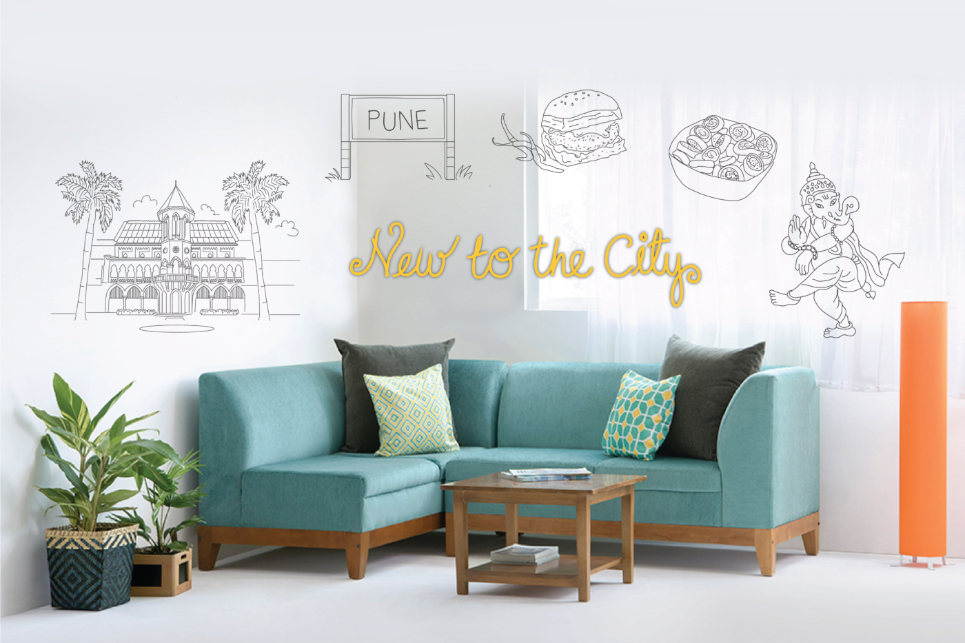 New to the City-pune