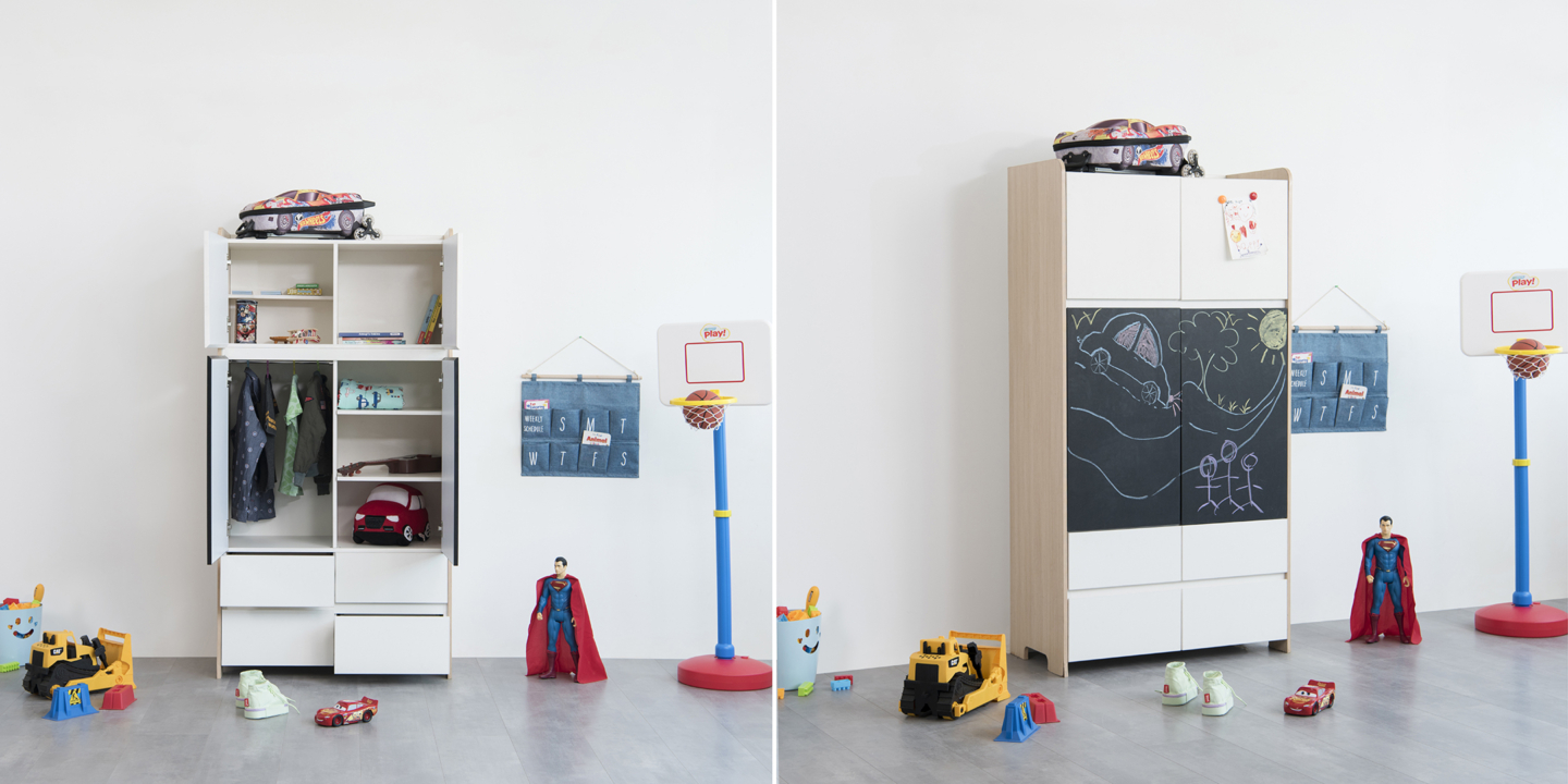 Kids storage solution