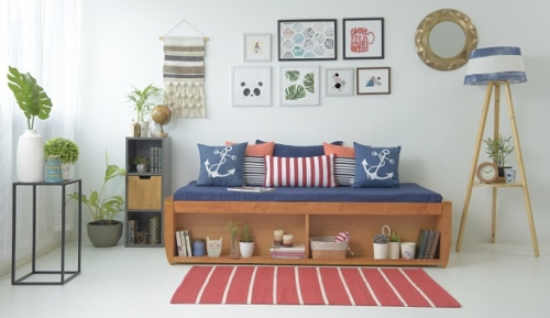 Wall art- How to do living room on a budget