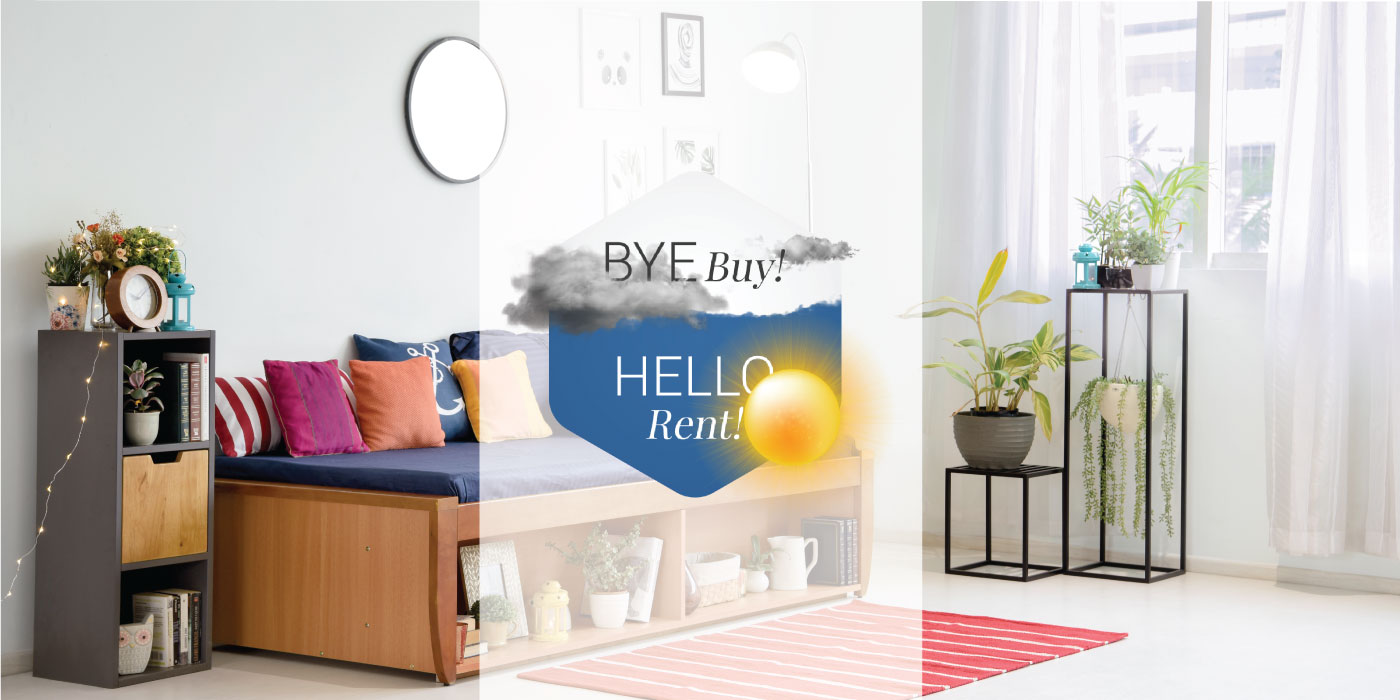 Rent vs Buy Furniture- Benefits of renting over buying