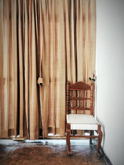 Drapes- Living room on a budget