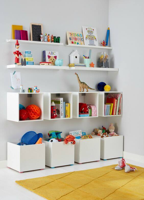 Kids Wall Decor- Shelves