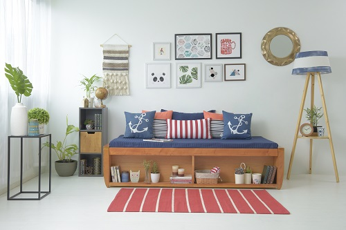 Living Room Decor- Walls