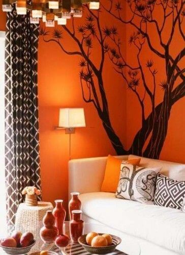 Living room wall decor- wall decals