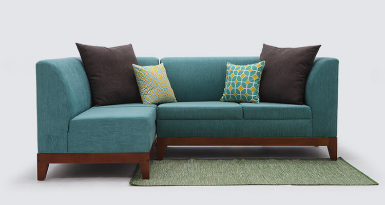 Sofa Design- Pop of Colors