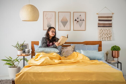 Layer Your Bed- Winter Ready Bedroom