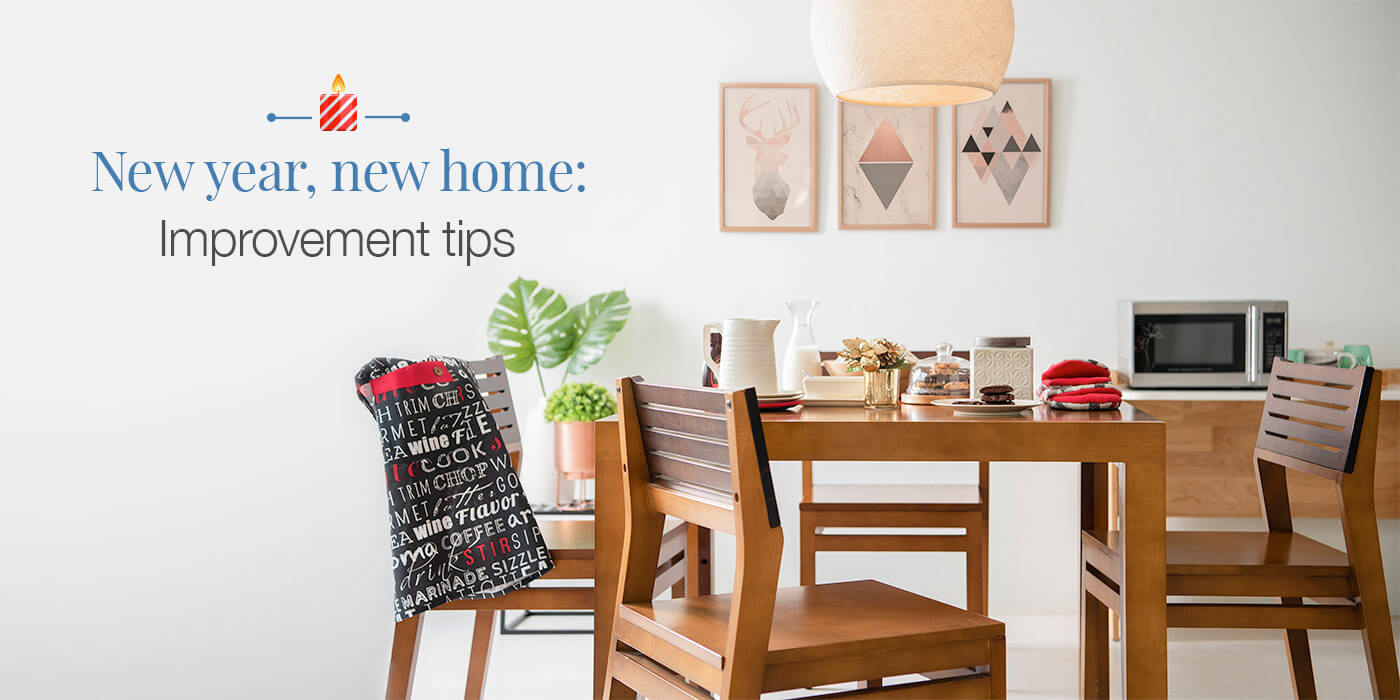 New Year Home Improvement Tips