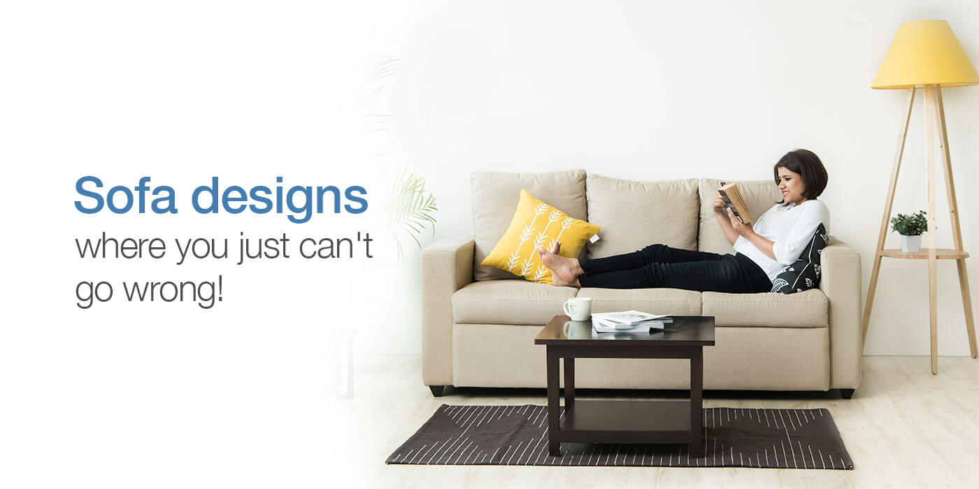 Sofa designs for a modern living