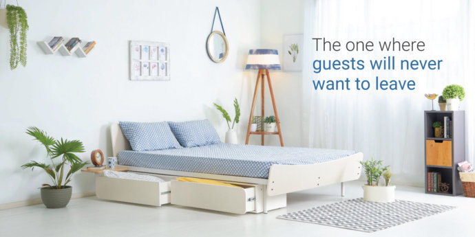How to setup guest room