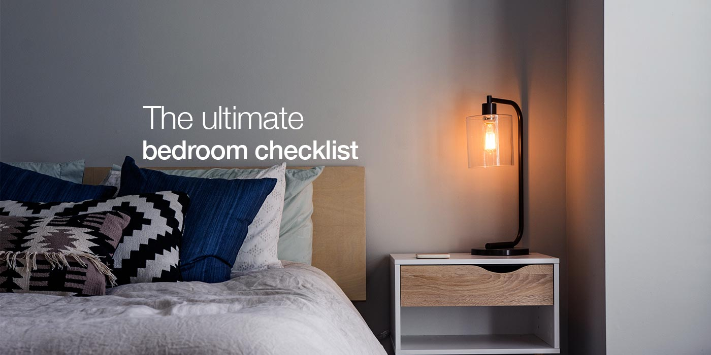 Bedroom Essentials Checklist