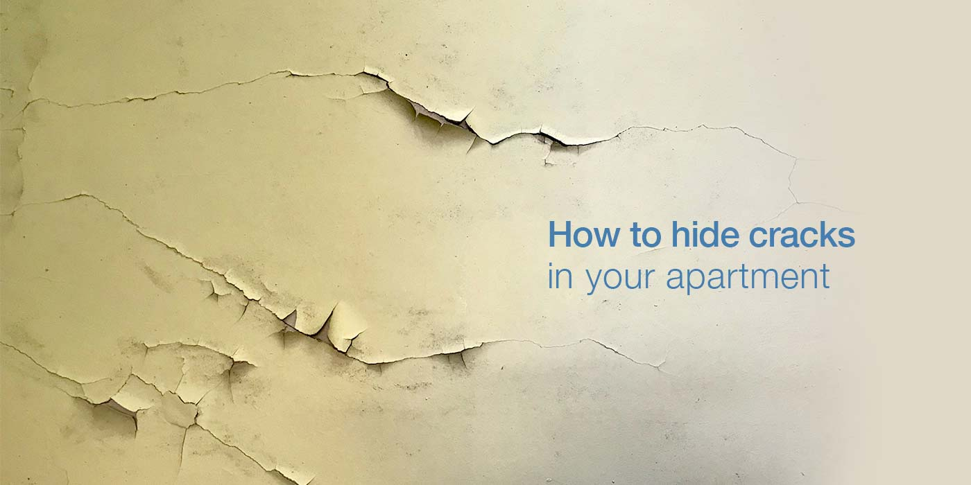 How to Hide Cracks in Home