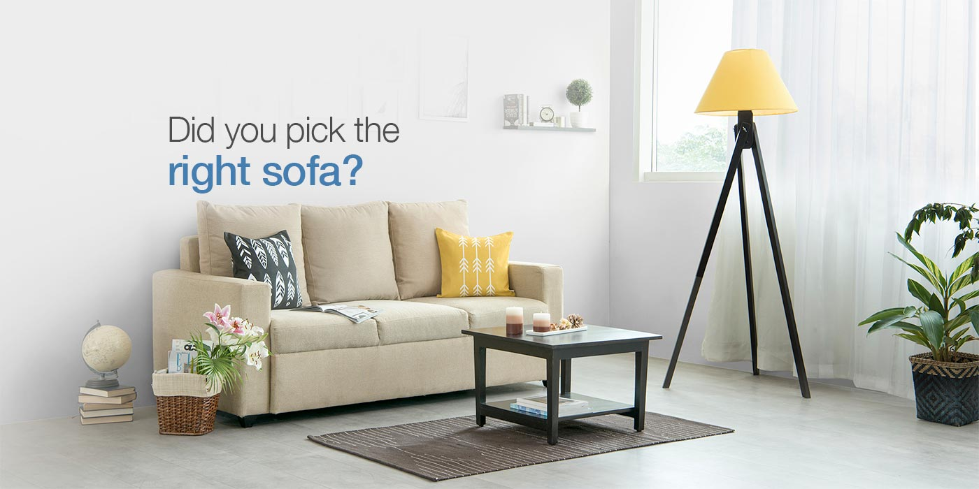 5 Tips to Choose the Best Sofa for your Living Room - Furlenco