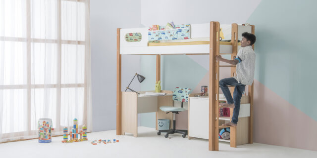 Maximise Kids Bedroom Space- Bed