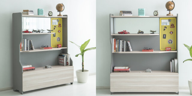 How to decorate with books- Bookshelf