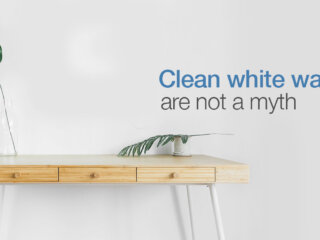 Keep White Walls Clean