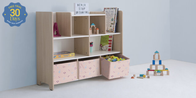 Kids Room Makeover- Storage Spaces