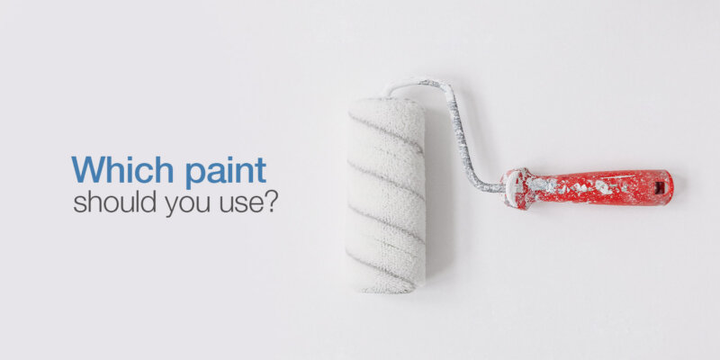 Types of house paints